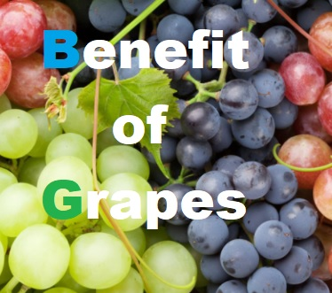 Benefit of Grapes